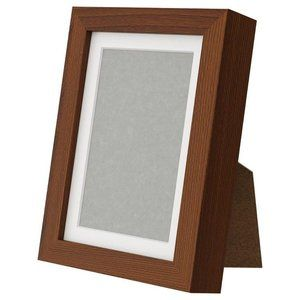 NWT IKEA Ribba Brown Picture Frame